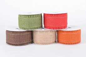wholesale burlap ribbon frayed edge burlap ribbon wholesale burlap ribbons