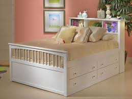 exciting full storage bed full size captains bed ne kids bed