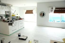 painting wood floor white u2013 laferida com