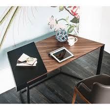 Kleiner Holz Schreibtisch Clarion Kleiner Schreibtisch Aus Holz Und Stahl Arredaclick
