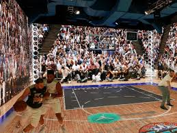 Basketball Courts With Lights Immersive Michael Jordan Simulator Is The World U0027s Coolest