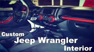 jeep burgundy interior awesome jeep wrangler interior lights diy custom jeep wrangler