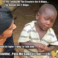Ravens Steelers Memes - meme maker so you are telling me generator
