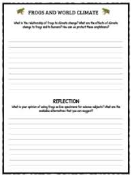 frog facts worksheets u0026 information for kids