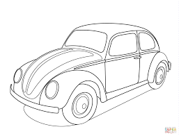 volkswagen old van drawing volkswagen beetle coloring page free printable coloring pages