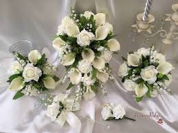 artificial wedding bouquets beautiful affordable artificial wedding flowers groovyruby ltd