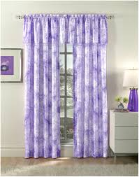 decorating awesome purple valance with white nightstand three