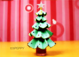 Decoration Material For Christmas Tree by How To Make Glittering Christmas Tree Online 123peppy Com