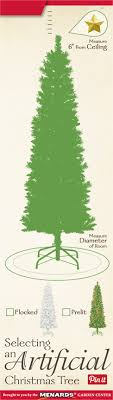 selecting an artifical tree at menards