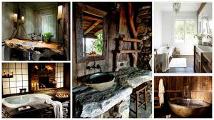 exceptional rustic bathroom designs filled with coziness and warmth
