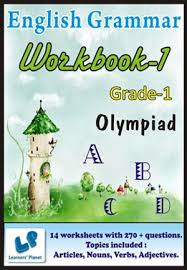 grade 1 olympiad english grammar workbook 1 this workbook contains