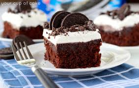 easy oreo cake and signed cookbook giveaway your cup of cake