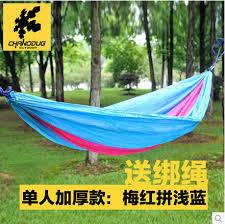 high quality chanodug single hammock camping survival hammock