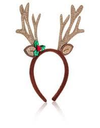 reindeer antlers headband rainbow reindeer headband antlers headband christmas headpiece
