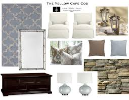 Yellow Livingroom by The Yellow Cape Cod Custom Designs