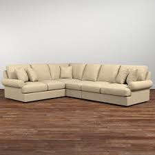 sutton l shaped sectional living room furniture bassett furniture