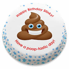personalised funny birthday emoji cake from 14 99 bakerdays