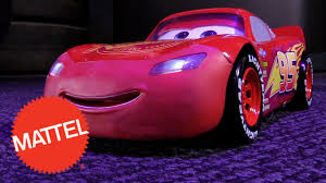 cars 3 tech touch lightning mcqueen at new york toy fair 2017