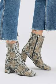 womens boots topshop max snake sock boots shoes snake snake boots and topshop