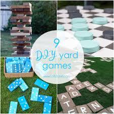 9 diy outdoor yard games outdoor yard games sunday activities