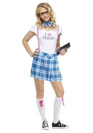 poodle skirt halloween costume i love nerds teen costume nerd costume nerd costumes and