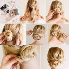 Hochsteckfrisurenen Selber Machen Lange Haare by Die Besten 25 Lockere Hochsteckfrisuren Ideen Auf