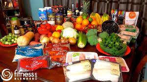 fitness blender grocery haul what does fitness blender u0027s diet