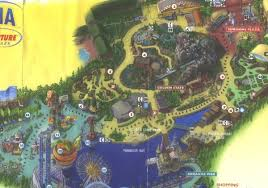 map of california adventure parade route for california adventure