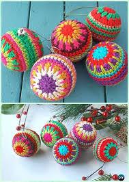crochet christmas free crochet christmas ornaments crocheted ornaments using a free