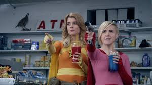 My Drunk Kitchen Youtube Superheroes Grace Helbig And Hannah Hart Take On Hollywood