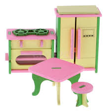 Dollhouse Kitchen Furniture Furniture Dolls Miniatures U0026 Houses Dolls U0026 Bears