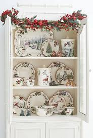 christmas dishes dining room interesting christmas dishes for modern dining room