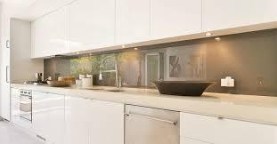crédences de cuisine en verre laqué sur mesures laqué