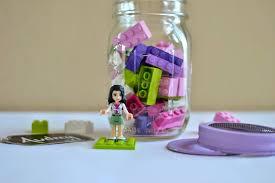 Mason Jar Party Favors Diy Lego Party Favor In A Jar