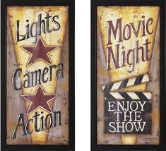 Home Theatre Wall Decor Perfect Decoration Home Theater Wall Decor Fancy Idea Wall Shelves
