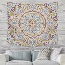 home decor medallion kaleidoscope wall tapestry