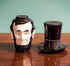 salt and pepper shakers lincoln salt and pepper shakers archie mcphee co