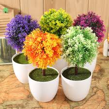 artificial topiary buxus tree u0026 ball plants pot garden home decor