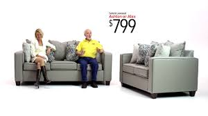 ashton and alex sofa sets bob u0027s discount furniture youtube