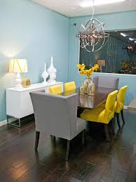 Yellow Dining Room Ideas Interior Ideas Romantic Wedding Party Table Decoration White And