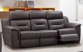 modern reclining sofa black the holland modern reclining sofa
