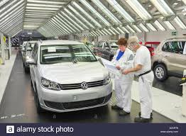 wolfsburg germany vw touran tiguan production quality control