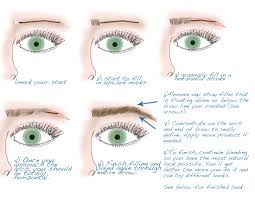 tutorial tuesdays eyebrow shaping and filling