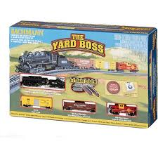 bachmann n scale yard electric set walmart