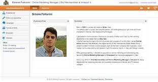 Resume Web Templates 16 Ultra Creative Cvs Interactive Résumés That Catch The Eye