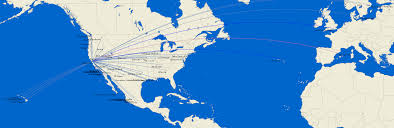 Us Airways Route Map by Route Map Oakland International Airport