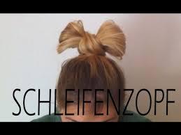 Frisuren Anleitung Schleife by Schleifen Zopf Einfache Hochsteckfrisur Für Lange Haare
