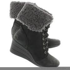 s ugg australia brown zea boots inexpensive ugg australia womens booties zea black lace up
