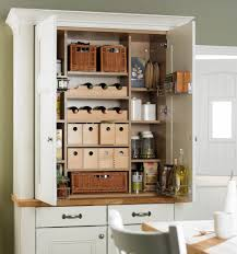 Oak Kitchen Pantry Cabinet Kitchen Top Notch Small Kitchen Decoration Using White Wood Glass