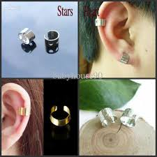 earrings for pierced ears 2018 2012new ear cuff earrings 4designs mix cuff ear piercing